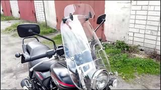 Спойлер на ветровое стекло мотоцикла с Алиэкспресс