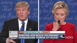 Presidential Debate Highlights | Preventing Homegrown Terror