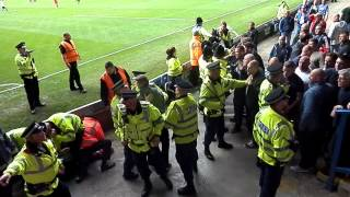 060  There may be trouble ahead oldham fans at bury 2015