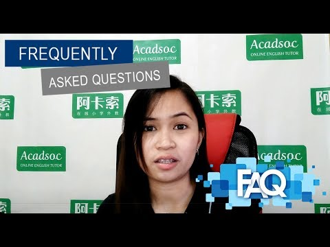FAQ (Acadsoc)