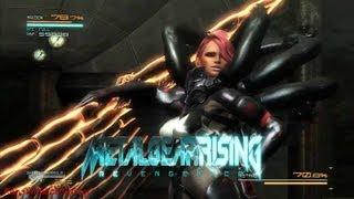 Metal Gear - Rising Revengeance - Raiden VS. Mistral Boss Fight