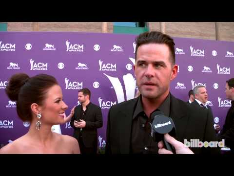 David Nail: 2013 ACM Awards Red Carpet