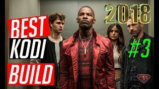 The Best KODI Builds Series 2018 #3| Live TV/TV Shows/Movies/Sports