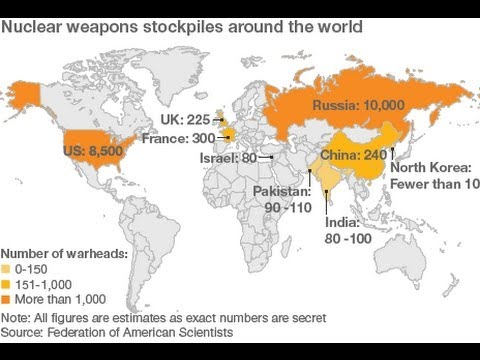 Which Countries Have Nuclear Weapons  YouTube