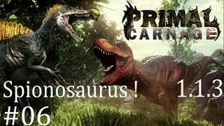 Primal Carnage (Version 1.1.3) Spinosaurus | GamePlay | #06 |