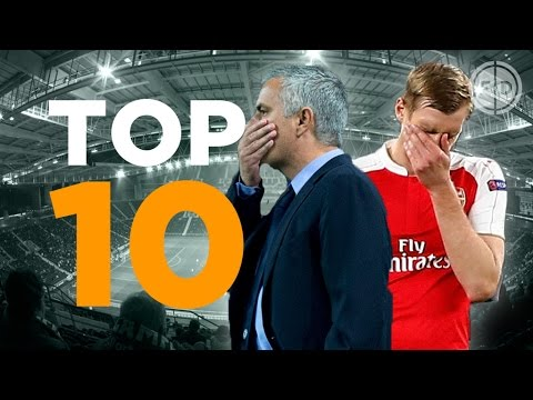Arsenal 2-3 Olympiakos & Porto 2-1 Chelsea | Top 10 Tweets, memes and Vines!