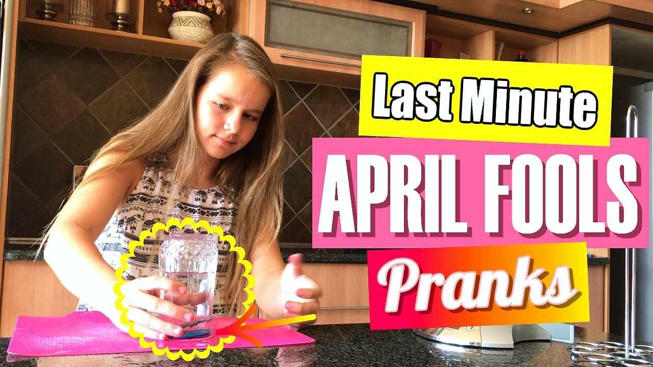 Last-Minute April Fools Pranks You Can Pull