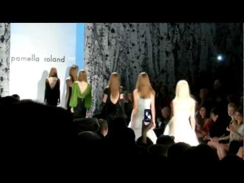 Pamella Roland - Fall 2012 New York Fashion Week - Meniscus Magazine