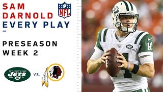 Every Sam Darnold Play vs. Redskins