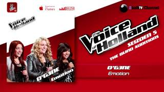 og3ne emotion the voice of holland 2014 the blind auditions audio