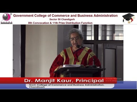 Live Telecast - Govt. College of Commerce and Business Administration - Convocation