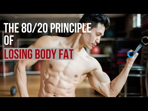 80\20 Principle of Losing Body Fat