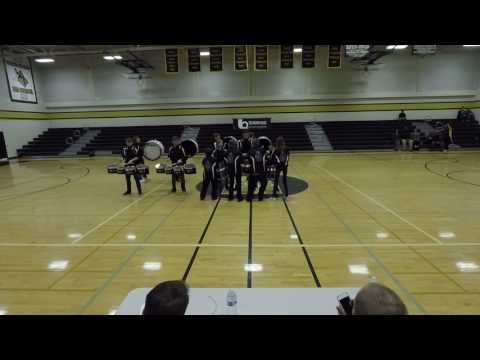Orting Middle School Drumline at LIDfest 2017