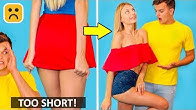 Girls Problems! Cool Outfit DIY And Fashion Hacks