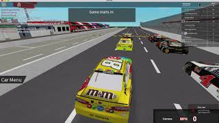 Racing With Legends! // ROBLOX: NASCAR 18'
