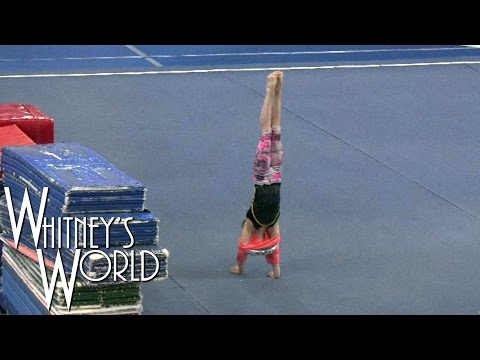 Why Gymnasts Don't Wear Shirts | Handstand Fail