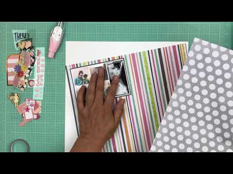Scrapbook Process 671  (2017-67/150) Scrap & Chat