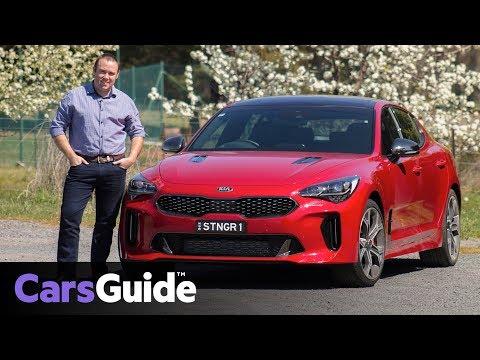 Kia Stinger 2017 review: first drive video - Dauer: 4 Minuten, 27 Sekunden