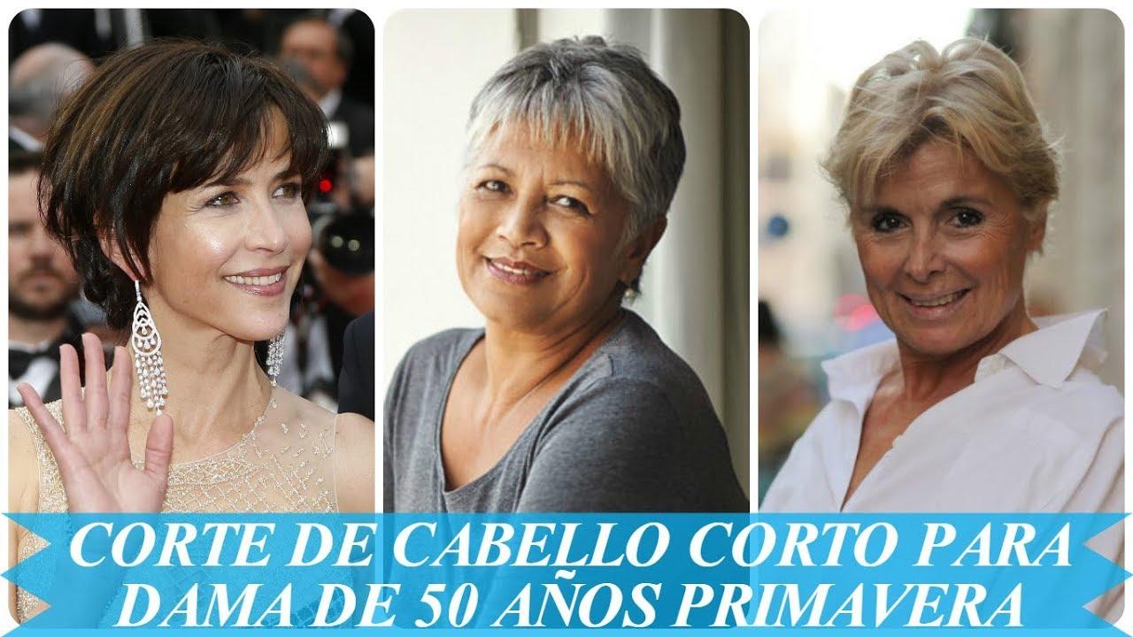Corte De Cabello Corto Para Dama De 50 Anos Primavera 2018