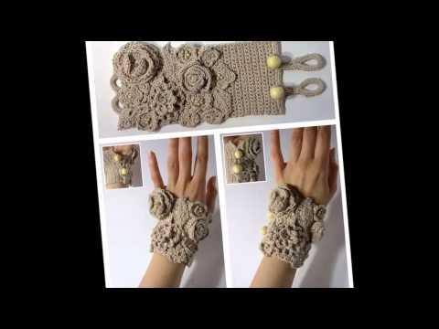 Cмотреть видео онлайн Модные вязаные аксессуары  Вязаные изюминки