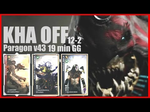 KHAIMERA OFF Paragon v43 Game-play HELLFIRE ENGINE Easy DECK