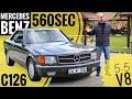 Mercedes 560SEC (C126/W126); V8 silindirli estetik y?ld?z - Tek Bölüm
