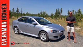 Here's the 2014 Mitsubishi Lancer on Everyman Driver