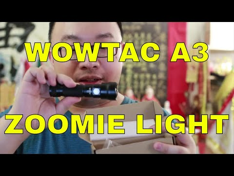 Wowtac A3 Zoomable Flashlight Review