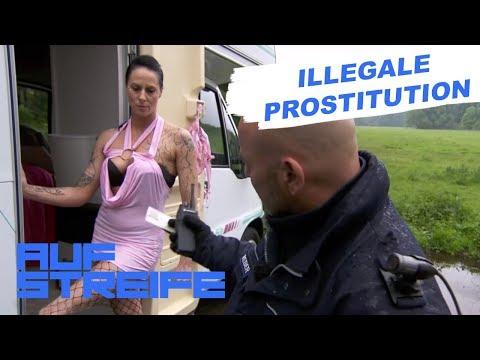 Ungewöhnliches Geburtstagsgeschenk - Prostitution auf dem Parkplatz | Auf Streife | SAT.1 TV