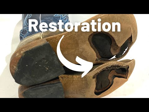 UNBELIEVABLE BOOT RESTORATION | Anderson Bean Boots Go From Trash to Almost New