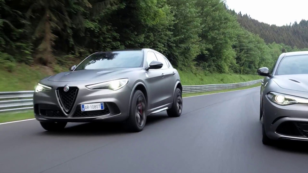 Stelvio and Giulia Quadrifoglio NRING: the Nürburgring record-breaking limited editions.