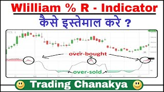 How to use (William % R - Indicator) - By trading chanaka