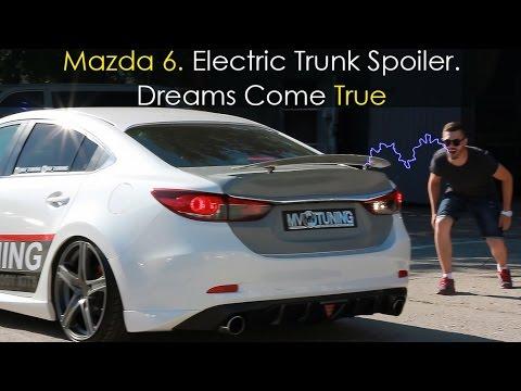 Mazda 6 (GJ) Electric Trunk Spoiler / Электрический спойлер Мазда 6