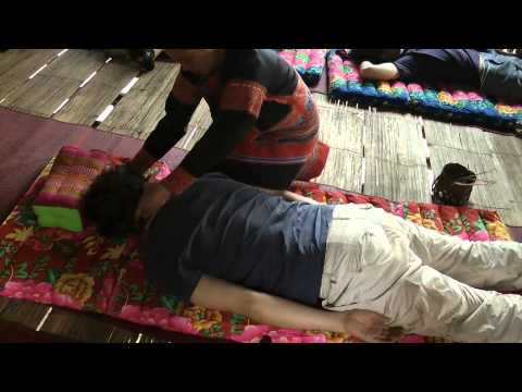 Lahu village tribal massage
