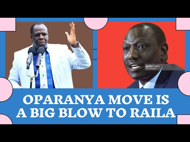 Why Oparanya Move to Join Ruto is a Huge Blow to Raila Odinga | Kenya Today