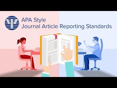 APA Style Journal Article Reporting Standards