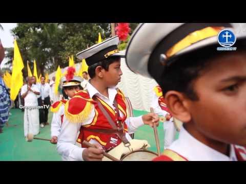 Welcome Procession at Kunnamkulam on 20th November 2016