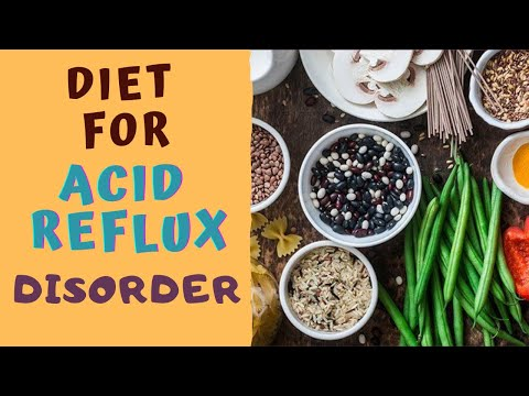 DIET FOR ACID REFLUX DISORDER -5 BEST & 5 WORST Foods for Acidity