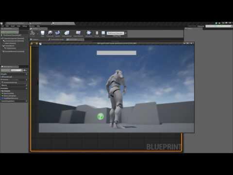 Unreal Engine 4 - Basic Health Bar