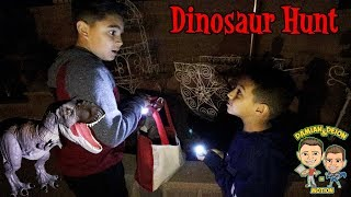 SCARY CREATURE IN BACKYARD PT.3 | MISSING DINOSAURS | D&D SQUAD