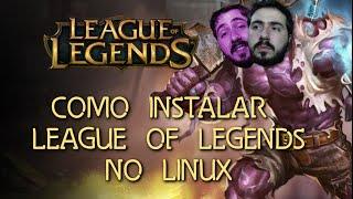 Como instalar League of Legends no Linux (How to - Wine/PlayOnLinux)