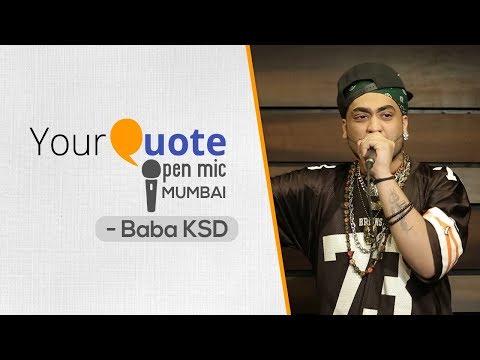 'Badnaam Shayar' & More by Baba KSD   Hindi Rap   YQ - Mumbai (Open Mic 3)