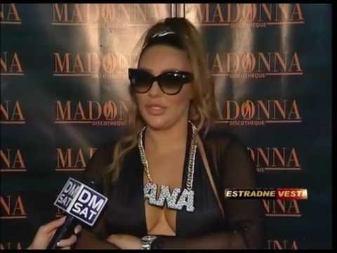 Ana Nikolic - Nastup u klubu Madonna - Pozarevac - Estradne vesti - (TV DM SAT 09.08.2016.)