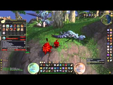 WowCrap - One Button Hunter Farming Macro