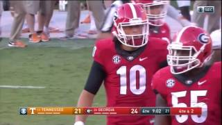 A Game to Remember Georgia vs  Tennessee
