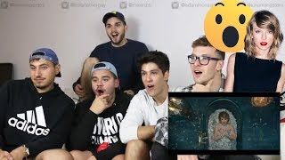 "Video 5 Guys React to ""Look What You Made Me Do - Taylor Swift Music Video download MP3, 3GP, MP4, WEBM, AVI, FLV Juni 2018"