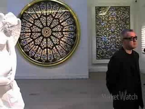 Damien Hirst's Auction Gamble