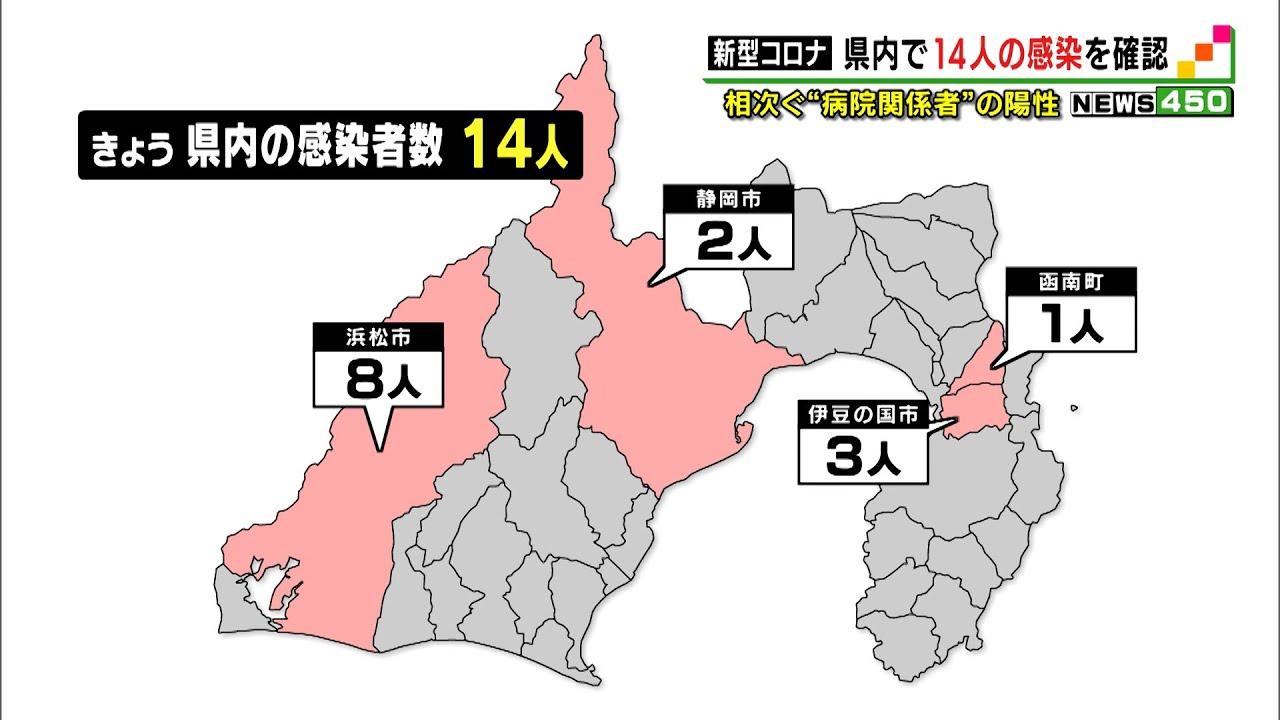 感染 の 静岡 者 県