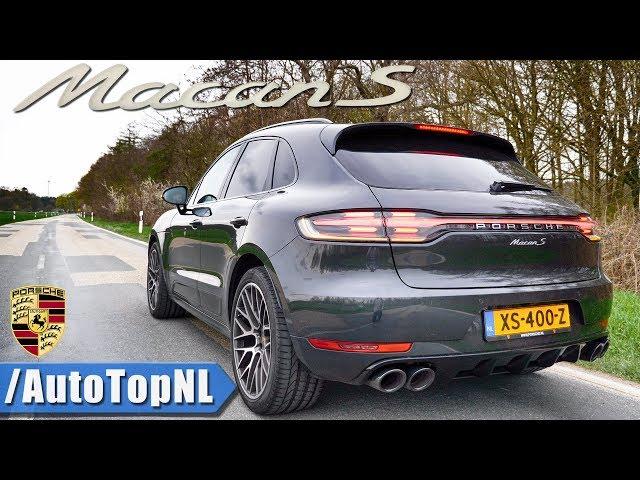 2019 Porsche Macan S Exhaust SOUND Onboard & REVS by AutoTopNL