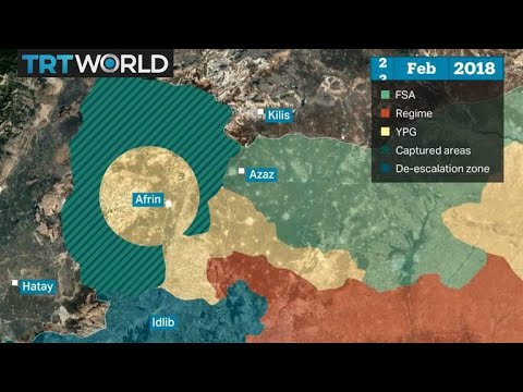 Turkish armed forces and the FSA take control of Afrin